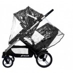 RAINCOVER TO FIT HAUCK DUETT TANDEM PUSHCHAIR