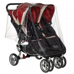 DOUBLE RAINCOVER WITH ZIP TO FIT BABY JOGGER ELITE