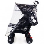 STROLLER RAINCOVER  UNIVERSAL FIT UMBRELLA STYLE HANDLE MODELS