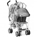 TRAVEL SYSTEM RAINCOVER UNIVERSAL FIT WITH ZIP