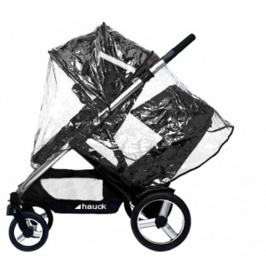 HAUCK DUETT PUSHCHAIR WITH RAINCOVER