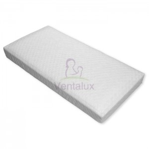 AIRCOOL SPRUNG INTERIOR COT MATTRESS