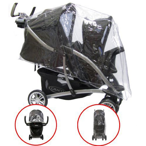 Raincover To Fit Graco Quattro Tour Duo